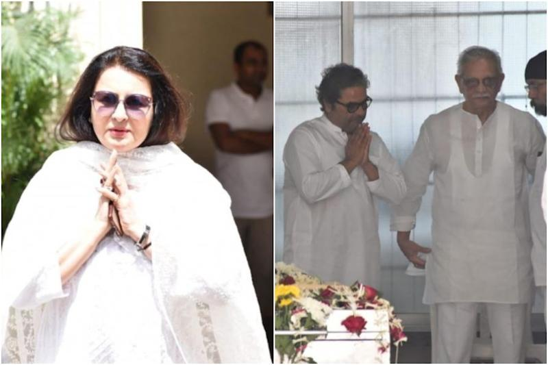 In Pics: Gulzar, Poonam Dhillon Lead Bollywood in Paying Tribute to Khayyam