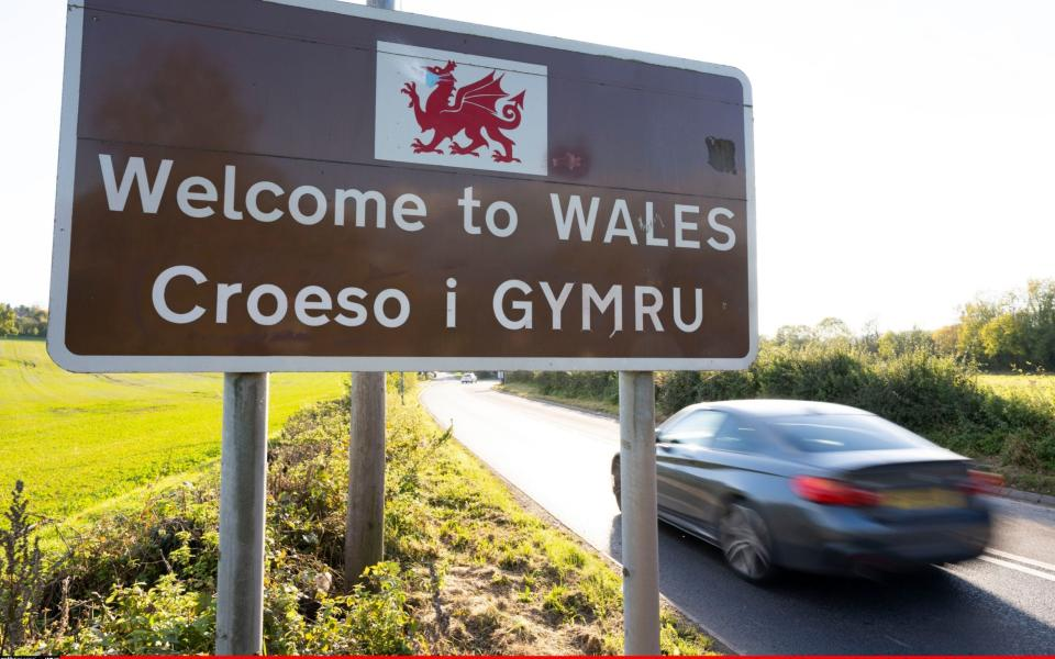 he Welsh First Minister Mark Drakeford said that people from parts of England, Scotland and Northern Ireland with high rates of Covid-19 infection would be banned from traveling to Wales - Matthew Horwood/Gerry