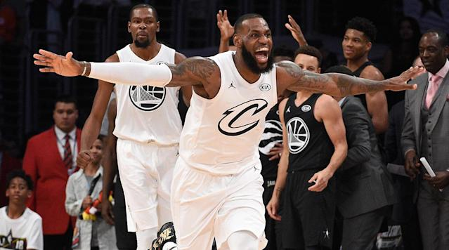 "<p>LOS ANGELES — Team LeBron defeated Team Steph 148–145 in this year's All-Star game, in what became a little bit of a thriller in the final minutes. In the first year of the NBA's new draft format, Team LeBron overcame multiple first-half deficits to bring the 2018 All-Star Game within two at the midway point, and kept it close before James himself scored the go-ahead bucket with some help from … Kyrie, of course.</p><p>Here are The Crossover's totally all-important, completely objective and analytical player grades for both teams.</p><h3><strong>STARTERS</strong></h3><p><strong>LEBRON JAMES, Cavaliers</strong></p><p>LeBron drafted a pretty good team on paper, and they actually kind of played defense, which was more than the Cavs had to say for the first few months of the season. Plus, he played well! It would have been sort of bad if LeBron didn't lead Team LeBron in scoring. He clearly cared about putting on a show, with some threes, some beautiful assists, a number of highlight dunks and one Dirk-style fadeaway. It's often par for the course when we write about LeBron playing well, but it was nonetheless enjoyable to watch.</p><p>The All-Star game is a nice reminder that the most difficult plays LeBron makes regularly are typically better than everyone else's best. He was two assists short of a triple-double and deserved the MVP award (which he got).</p><p><strong>Grade: A+</strong></p><p><strong>KEVIN DURANT, Warriors</strong></p><p>Only sort of living up to his billing as the top pick in the All-Star draft, KD sprinkled in the buckets here and there. He was Team LeBron's third-leading scorer. His defense on DeMar DeRozan helped seal the game.</p><p><strong>Grade: B</strong></p><p><strong>ANTHONY DAVIS, Pelicans </strong></p><p>Davis came out wearing Cousins's number zero jersey in a solid piece of early free-agent recruitment. He's the perfect lob target, so he's fun in All-Star games despite only playing 17 minutes. He was nice enough to allow Andre Drummond to start the second half, but finished as a -18.</p><p><strong>Grade: B-</strong></p><p><strong>RUSSELL WESTBROOK, Thunder</strong></p><p>One of the night's biggest surprises was that Russ didn't even come out gunning as hard as he usually does in these things. He basically only shot threes and missed most of them, focusing on setting up teammates instead. But like, in the All-Star game, we really just want to see him dunk.</p><p><strong>Grade: C</strong></p><p><strong>KYRIE IRVING, Celtics</strong></p><p>Because of his handle, Kyrie is never not entertaining to watch. You half expected him to be in full Uncle Drew garb, and he really stepped up in the game's final minutes. He assisted LeBron for a go-ahead bucket in the final minute of the game and led his team in dimes. Yay, friends!</p><p><strong>Grade: B+</strong></p><h3><strong>RESERVES</strong></h3><p>We'll go in alphabetical order for democratic purposes.</p><p><strong>LAMARCUS ALDRIDGE, Spurs</strong></p><p>He didn't really do anything and only played four minutes.</p><p><strong>Grade: N/A</strong></p><p><strong>BRADLEY BEAL, Wizards</strong></p><p>Beal got pretty hot from outside, which is what he's supposed to do in an All-Star game. The third quarter was kind of a heat check for him. It ended, but it was helpful if you operate under the assumption he wanted to win the game.</p><p><strong>Grade: A-</strong></p><p><strong>GORAN DRAGIC, Heat</strong></p><p>Dragic only played 11 minutes, but it was his first All-Star game, he had family in from Slovenia and because he made it here, a select few got to hear Kevin Hart botch the pronunciation of ""Slovenia"" before the game. It wasn't the only thing Kevin Hart screwed up. I have no strong feelings about Goran's performance otherwise.</p><p><strong>Grade: N/A</strong></p><p><strong>ANDRE DRUMMOND, Pistons</strong></p><p>Drummond was seen on a couple occasions actually playing defense. He had some dunks and didn't miss a shot, mostly because he was dunking in the All-Star game, but also had a couple of nice floaters. It looked like he cared. For an athletic big guy coming off the bench, what else can you ask for?</p><p><strong>Grade: B+</strong></p><p><strong>PAUL GEORGE, Thunder</strong></p><p>It was a homecoming game for George, but not really an efficient one. He began to heat up late, but spent a lot of time blending in. He got outshined by DeMar DeRozan.</p><p><strong>Grade: C+</strong></p><p><strong>VICTOR OLADIPO, Pacers</strong></p><p>Oladipo's third-quarter steal and breakaway reverse dunk was cool, and I give the guy props for making the team with Paul George after being traded for…Paul George. That was really it.</p><p><strong>Grade: C+</strong></p><p><strong>KEMBA WALKER, Hornets</strong></p><p>Kemba added some scoring punch and was a plus-7 in 14 minutes. He's auditioning for next year's game in Charlotte, assuming he doesn't get traded.</p><p><strong>Grade: B+</strong></p><p><strong>THE LOS ANGELES NIGHTLIFE</strong></p><p>Team LeBron shot 32.8 percent from three-point range, and far worse than that on jump shots, probably. The two teams combined to go 36–123 from outside.</p><p><strong>Grade: A+</strong></p><p><strong>FERGIE</strong></p><p>The national anthem was … something. It was full of awkwardly jazzy vocal runs and uncouth embellishment. You don't even have to have an opinion about the anthem to know that it was a bad rendition. You can't spell Fergalicious without an F. But it did gift us the night's best meme, in conjunction with a bemused Draymond Green.</p><p>From an unintentional humor standpoint, it was actually the peak of the night. But, we don't grade on that scale here. We take this thing seriously.</p><p><strong>Grade: F</strong></p><p>- Jeremy Woo</p><h3><strong>Starters</strong></h3><p><strong>STEPHEN CURRY, Warriors</strong></p><p>Curry played like he spent too much time at the Brita party Saturday night. I need to see Steph pull up from way behind the three-point line when he plays in All-Star games. No more floaters. And what's with the headband? It looked more like Steph's cousin was playing in the first half.</p><p><strong>Grade: D</strong></p><p><strong>DEMAR DEROZAN, Raptors</strong></p><p>DeRozan scored often when he was on the court, flashing a nice two-man game with his Raptors teammate Kyle Lowry. You have to imagine DeRozan had a little extra pep in his step with SI's Ben Golliver in attendance. (Ed. note: DeRozan did not have an extra pep in his step because of Ben Golliver.)</p><p><strong>Grade: B</strong></p><p><strong>JAMES HARDEN, Rockets</strong></p><p>Harden was inefficient and didn't do any of his cool moves! Where were the dribble fakes? Why didn't he lull any defenders to sleep? Harden was playing for his own coach and still ended with a game-worst minus-21. It was like Game 6 against the Spurs all over again.</p><p><strong>Grade: D</strong></p><p><strong>GIANNIS ANTETOKOUNMPO, Bucks</strong></p><p>Giannis was one of the few players to try for a full 48 minutes. His jumper needs work if he's truly going to dominate a game like this one, but he brought a youthful bounce to the proceedings.</p><p><strong>Grade: B+</strong></p><p><strong>JOEL EMBIID, 76ers</strong></p><p>Embiid provided one of the best moments of the game when he hit a three over Russell Westbrook, then blocked Westbrook and stared him down on the very next possession. Like his fellow unicorn Giannis, Embiid was one of the few players to try for the entire night. He wasn't afraid to shoot, but I was surprised he didn't fool around more on the court. It was also fun as hell to see Embiid receive post touches against LeBron down the stretch.</p><p><strong>Grade: B+</strong></p><h3><strong>Reserves</strong></h3><p><strong>JIMMY BUTLER, Timberwolves</strong></p><p>Butler didn't play Sunday night. He better hope Tom Thibodeau never coaches an All-Star game.</p><p><strong>Grade: Tired</strong></p><p><strong>DRAYMOND GREEN, Warriors</strong></p><p>Draymond provided the highlight of the night with his reaction to Fergie's national anthem. He really didn't do much else, but it doesn't matter. Dray certified his legacy by failing to hide his emotions during the anthem, embodying the way the rest of us felt.</p><p><strong>Grade: A</strong></p><p><strong>AL HORFORD, Celtics</strong></p><p>I mean, sure, Al Horford played in this game. There's really not much more to say than that.</p><p><strong>Grade: C</strong></p><p><strong>DAMIAN LILLARD, Trail Blazers</strong></p><p>Lillard played this game like Curry should have. Dame deserved to be on the court down the stretch, finishing with 21 points as his teammates closed out the game. Lillard wasn't afraid to pull up from deep and I'm curious how hot he could've gotten with a little more playing time.</p><p><strong>Grade: A</strong></p><p><strong>KYLE LOWRY, Raptors </strong></p><p>I really liked the way Lowry played this game! He didn't take any crazy shots, and he seemed happy to fulfill point guard duties and set up everyone else on the court. Every All-Star game needs a player like Lowry.</p><p><strong>Grade: B+</strong></p><p><strong>KLAY THOMPSON, Warriors</strong></p><p>Klay was Klay and not much else, if that makes sense. He shot 10 threes and hit half of them. He looked like he was going through the motions, but he's such a good shooter than he can still rip 50% shooting from three at half-speed.</p><p><strong>Grade: B-</strong></p><p><strong>KARL-ANTHONY TOWNS, Timberwolves</strong></p><p>Towns was gunning! He looked like he was going for MVP in the first half, letting it fly from all over the court. Towns finished with a cool 17 points, 10 rebounds and—my favorite part—0 assists. I don't recall if KAT ever shared the court with Giannis and Embiid, but I hope to see a lot more of that in the future.</p><p><strong>Grade: B+</strong></p><p>- Rohan Nadkarni</p>"