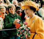 <p>Erin Combs photographed Queen Elizabeth II arriving in Canada for a Royal Tour in 1984. </p>