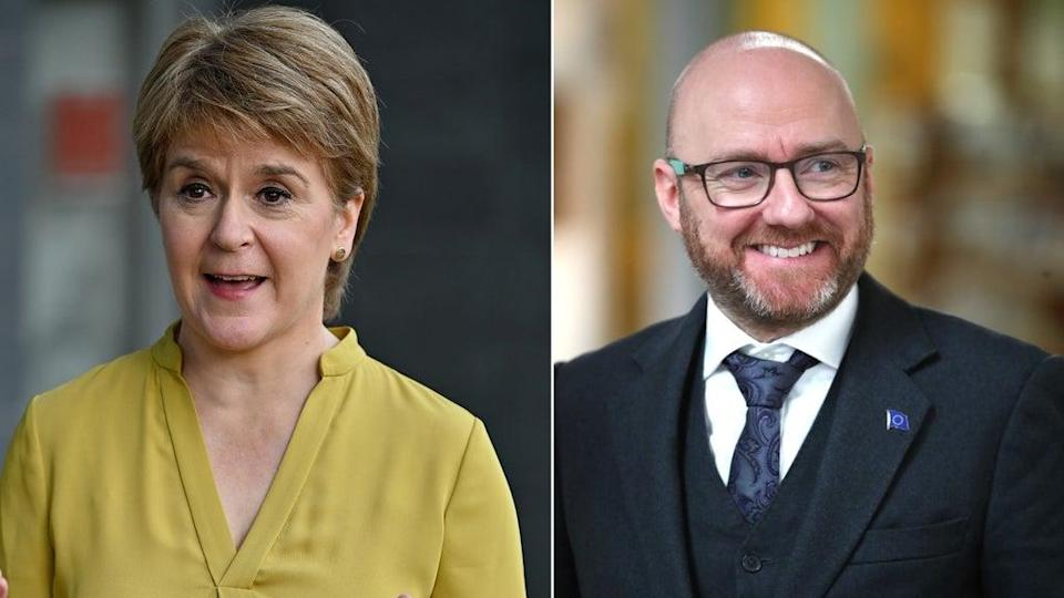 Nicola Sturgeon and Patrick Harvey's parties are close to a deal (Jeff J Mitchell/Jane Barlow/PA)