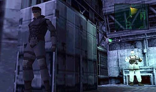 Screenshot from Metal Gear Solid on PlayStation
