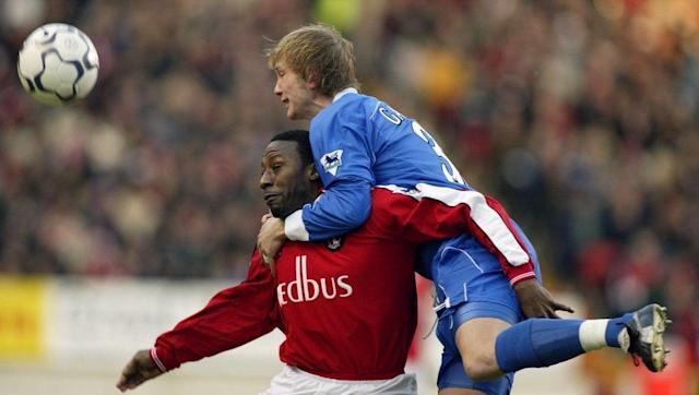 <p>Ipswich were battling to stay up when they began 2002 with a trip to the Valley. All looked well for the Tractor Boys as Marcus Bent's double in the first five minutes looked like making it a very happy new year for the strugglers.</p> <br><p>However, two goals in 15 minutes from John Robinson and Scott Parker made it 2-2 at the break and set up a grandstand second half. Bent missed the chance for a hat-trick, hitting the post before Jason Euell's scrappy winner gave Charlton a thrilling win as Ipswich's survival fight took a real blow in South London.</p>