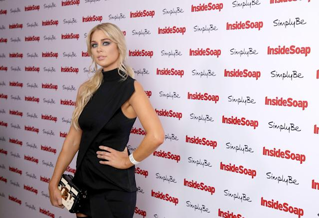 Amanda Clapham at the Inside Soap Awards 2017 in London, England. (Mike Marsland/Mike Marsland/WireImage)