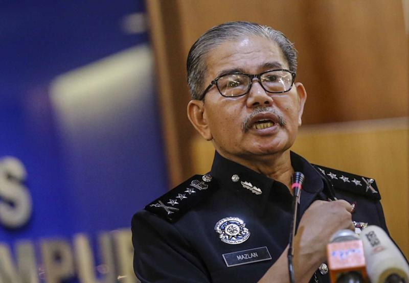 Mazlan advised the public against sharing the CCTV footage of the upskirt incident to avoid jeopardising investigations. ― Picture by Firdaus Latif