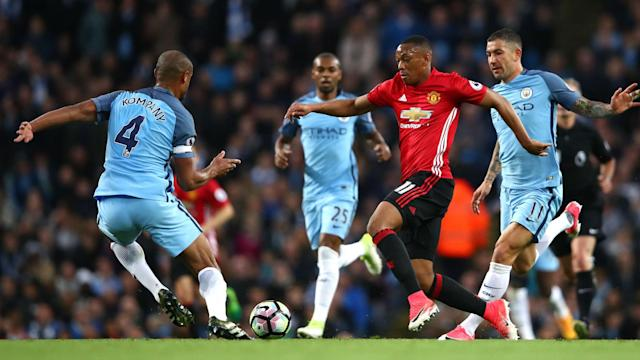 Manchester City captain Vincent Kompany believes his greater experience kept Manchester United quiet in Thursday's Premier League draw.