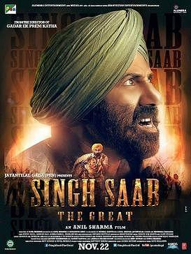 Poster of <i>Singh Saab the Great</i>.