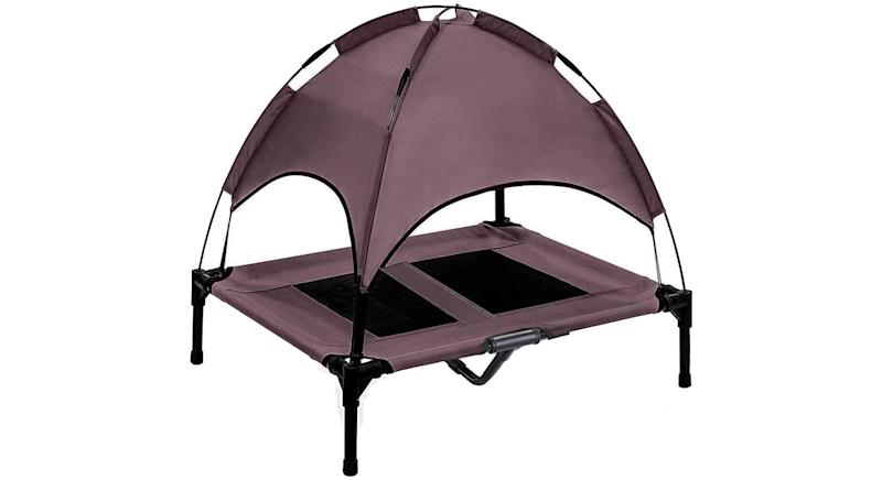 Jolitac Elevated Dog Cot Large with Removable Canopy