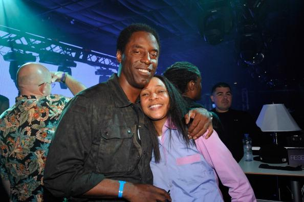 Actors Isaiah Washington and Felicia Pearson attend as Samsung Galaxy presents Prince and A Tribe Called Quest at SXSW on March 16, 2013 in Austin, Texas.