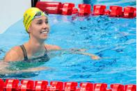 <p>27-year-old Emma McKeon won seven gold medals during the swimming heats, making her the first female in the sport to ever do so. She took home four golds from the 100m freestyle, 50m freestyle, 4x100m freestyle relay, and 4x100m medley relay; and bronze in the women's 100m butterfly, the 4x100m mixed medley relay and the 4x200m freestyle relay.</p>