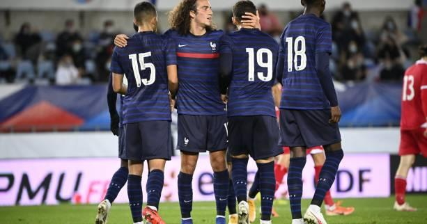 Foot - Espoirs - Qualifications Euro 2021 : l'équipe de France Espoirs se balade contre le Liechtenstein
