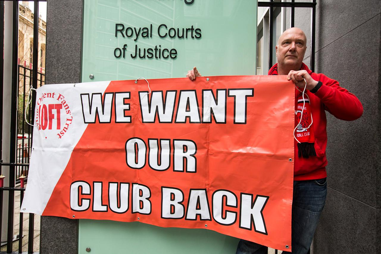 Leyton Orient fans demand answers from Francesco Becchetti after High Court reprieve