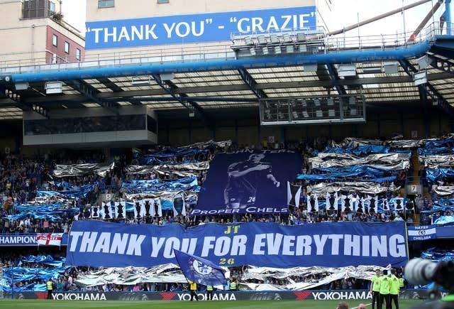 Terry was a huge fans' favourite at Stamford Bridge (Nick Potts/PA)