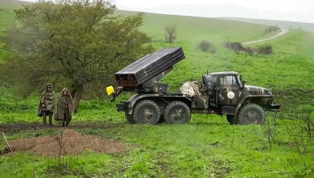 Azerbaijan general among 14 killed along border with Armenia in most serious hostilities since 2016