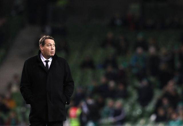 Steve Hansen will steer New Zealand into another World Cup as favourites (Brian Lawless/PA)
