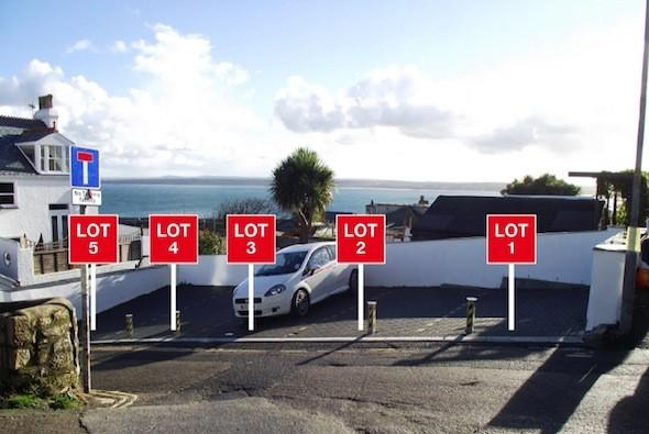Parking spaces for £50,000 each!