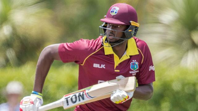 Carlos Brathwaite's delivery combined with Jason Holder's batting for West Indies to earn another easy World Cup qualifying win.