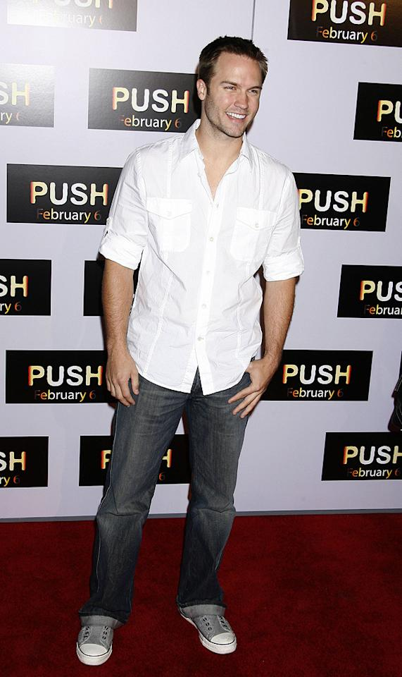"""<a href=""""http://movies.yahoo.com/movie/contributor/1809721668"""">Scott Porter</a> at the Los Angeles premiere of <a href=""""http://movies.yahoo.com/movie/1809922967/info"""">Push</a> - 01/29/2009"""