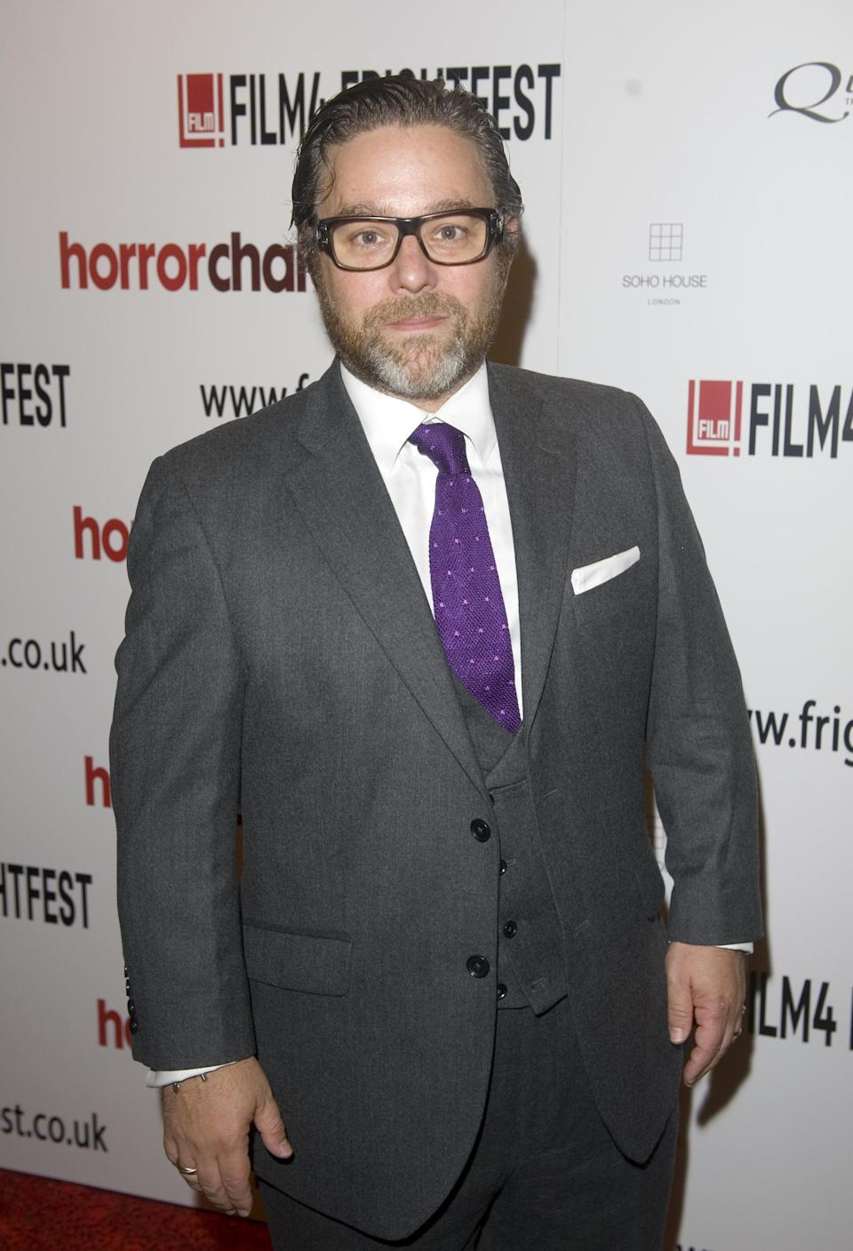 Andy Nyman arriving for the premiere of The Glass Man shown as part of the Film4 FrightFest at the Empire Cinema, Leicester Square, London.   (Photo by Anthony Devlin/PA Images via Getty Images)