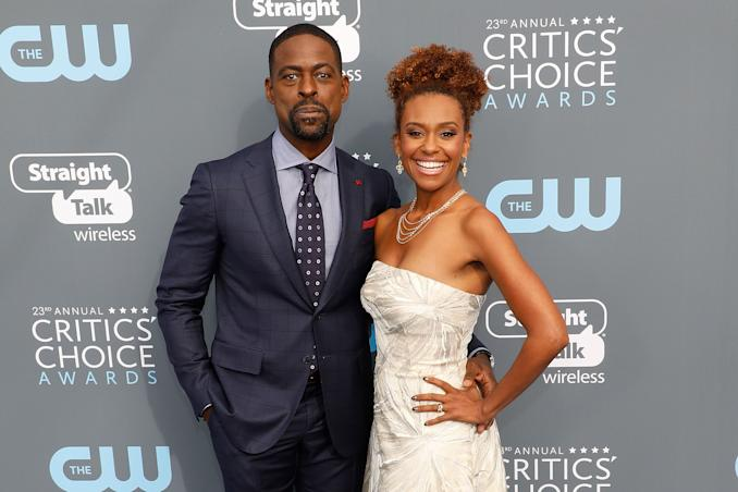 Image of Sterling K. Brown and Ryan Michelle Bathe