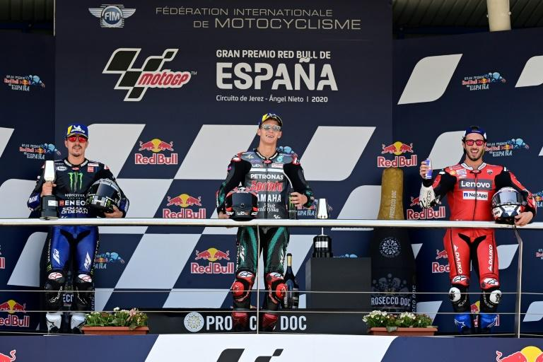 Four-way title fight heats up at Catalan MotoGP