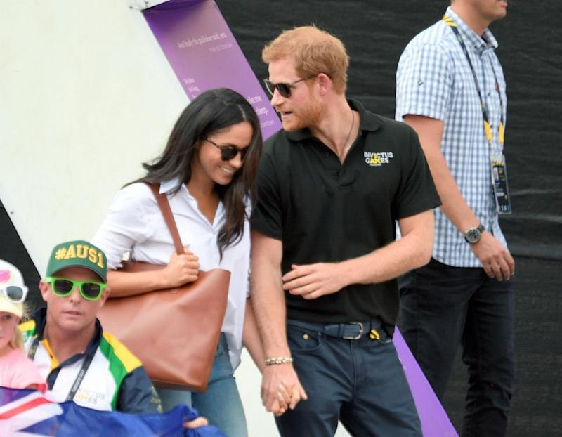 Harry and Meghan make such a great couple. Photo: Getty