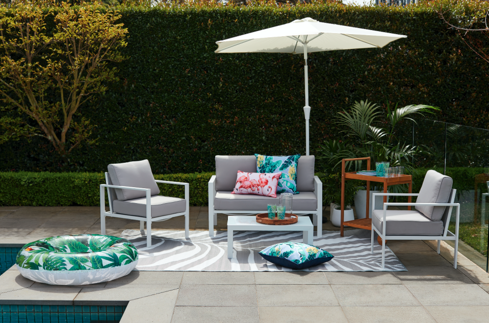 Kmart's new outdoor furniture range