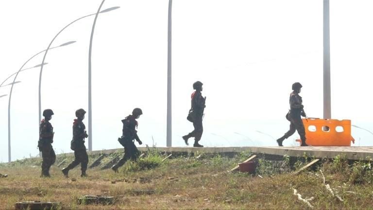 Myanmar's capital under heavy security day after coup