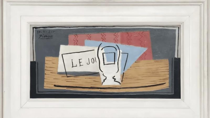 Picasso's 'Nature Morte' worth $1 million on offer for $100. Credit: Pablo Picasso/Succession Picasso