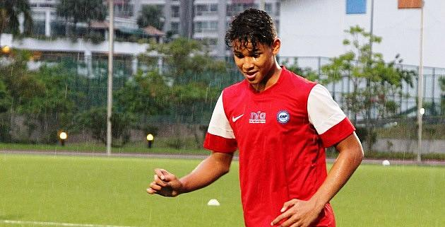 Plenty of eyes will be on Irfan Fandi as he plays the tournament that his famous father, Fandi Ahmad, burst onto the scene with. (Photo: 25th Canon Lion City Cup)