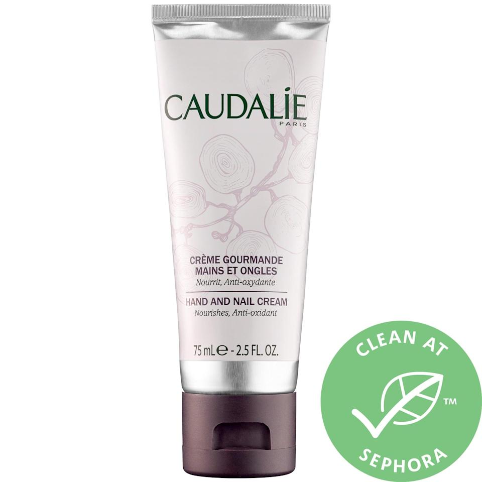 <p>Keep frequently washed hands silky smooth (and treat nails in between manicures) with this bestselling <span>Caudalie Hand and Nail Cream</span> ($15), or a new mini <span>Caudalie Hand and Nail Cream Trio</span> ($15). Much of the power comes from nourishing, antioxidant-rich grapes and reparative shea butter, and this lotion won't leave hands sticky afterwards either.</p>