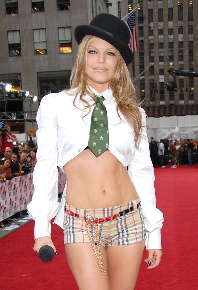 Fergie at the Radio City Music Hall in New York City, New York (Photo by Kevin Mazur/WireImage)