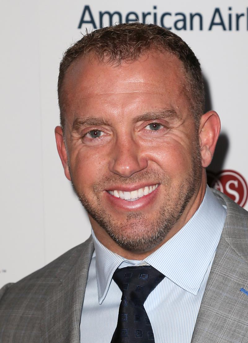 Former NFL player Heath Evans attends the Cedars-Sinai Sports Spectacular at the Hyatt Regency Century Plaza on May 31, 2015 in Century City, California.