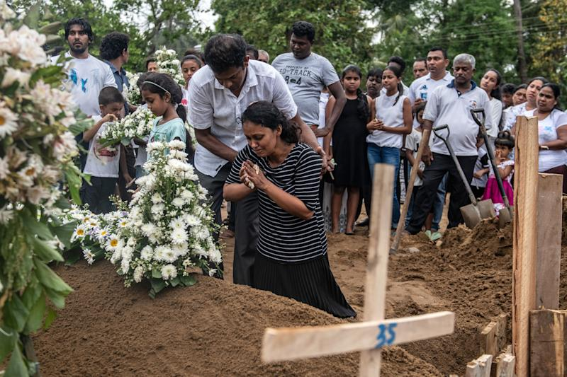 'We are nervous': Sri Lankan PM warns of suspects with bombs at large amid fears of new attacks