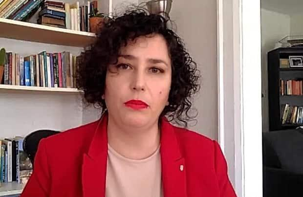 Lia Tarachansky, an Israeli-Canadian journalist and documentary filmmaker, grew up in Israel and spent most of her professional life there. 'It's incredible to see how people are able to maintain their humanity in the middle of this insanity,' she says.