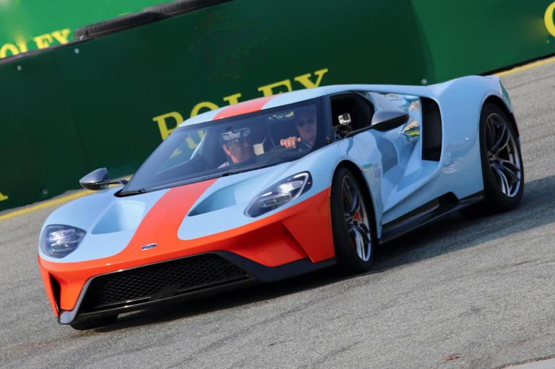 Gulf Has Celebrated The Th Anniversary Of Its First Le Mans Victory By Joining Forces With Ford To Produce A Very Special Model The Oil Giant Has Granted