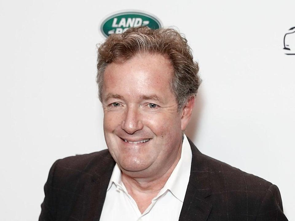 Piers Morgan pictured in 2017 (Getty)
