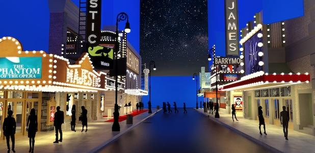 The Prom Broadway Rendering View 2