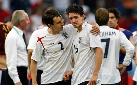 """As England head into their quarter-final against Sweden on Saturday, past results will not be particularly comforting, with England only slightly edging their head-to-head against the country by eight wins to Sweden's seven, and the last two meetings in a World Cup both ending in draws. The last of those was in 2006, when Sweden scored a 90th-minute equaliser that meant both teams would progress from their group to the knock-outs. What Gareth Southgate's team can be comforted by is the fact they do not have a """"golden generation"""" tag hanging over their heads at this tournament. At Germany 2006 it was a very different England, led by Sven Goran Eriksson, a legion of WAGs dominating the headlines and a ton of expectation. It was England's """"golden generation"""", they were so good on paper - Michael Owen, Rio Ferdinand, David Beckham, Frank Lampard, Wayne Rooney - they had to do something special. Instead there was one special moment - Joe Cole's goal against Sweden that came out of nowhere - and a very low one where Rooney's red card and Beckham's injury led to England's dire penalty shoot-out against Cristiano Ronaldo's Portugal to send them home in the quarter-finals. But that was 12 years ago, and for the most part England's stars of the 2000s have recovered from their World Cup woes to find redemption in betting company endorsement deals, poor punditry and - you guessed it - twilight years spent in the MLS. Paul Robinson Robinson had a pretty uneventful World Cup by England keeper standards, barring their exit at the hands of Portugal in a penalty shoot-out. He would not make the England squad for the 2010 tournament in South Africa, and would retire from international football that same year, frustrated that he could not make it onto Fabio Capello's team sheet. He ended his football career at Burnley in 2017. He is now an ambassador for betting company Fans Bet and is a pundit for the World Cup on beINSports. �� MAX HD3: We begin our buildup to the final Round of 16 """
