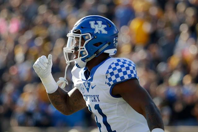 Kentucky linebacker Josh Allen (AP Photo)