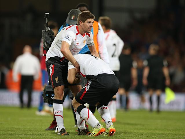 Liverpool title hopes crumble in 3-3 tie at Palace