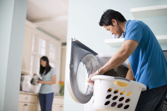 """<p>""""A division of household labor perceived to be fair ensures that partners feel respected while carrying out the tasks of daily life. … Completing housework may or may not be enjoyable, but knowing that a partner is pulling his weight prevents anger and bitterness, creating more fertile ground in which a (satisfying) sexual encounter may occur,"""" says study author <a href=""""http://psycnet.apa.org/psycinfo/2015-46448-001/"""">Matt Johnson</a>, a professor in the human ecology department at the University of Alberta.<i>(Photo: <a href=""""http://www.thinkstockphotos.com/"""">Thinkstock</a>)</i><br /></p>"""