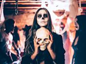 """<p>Is it <em>really</em> a <a class=""""link rapid-noclick-resp"""" href=""""https://www.popsugar.com/Halloween"""" rel=""""nofollow noopener"""" target=""""_blank"""" data-ylk=""""slk:Halloween"""">Halloween</a> party without a costume contest? While this technically isn't a game, a great way to capture the <a href=""""https://www.popsugar.com/Halloween-Costumes"""" class=""""link rapid-noclick-resp"""" rel=""""nofollow noopener"""" target=""""_blank"""" data-ylk=""""slk:creative costumes"""">creative costumes</a> (and fun memories) of the night is to set Polaroid cameras around the venue, or even set up a <a class=""""link rapid-noclick-resp"""" href=""""https://www.popsugar.com/latest/DIY"""" rel=""""nofollow noopener"""" target=""""_blank"""" data-ylk=""""slk:DIY"""">DIY</a> photo booth. You know, if you're looking to flex your creativity muscle. From scary props to moody lighting, your guests will have an spook-tacular time saying """"cheese"""" and posing!</p> <p><strong>How to do it while social distancing:</strong> There's no denying that everyone loves to dress up! Carve out a time for a Zoom or FaceTime call, and tell your friends to dress to impress.</p>"""