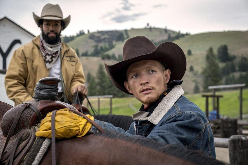 <p>John and Rip take Jimmy under their wings, but Jimmy is far from a perfect cowboy. Rip is particularly hard on him, as he sometimes sees a bit of himself in Jimmy. This is far from White's first time on the small screen, as he's appeared in <em>House of Cards</em>, <em>Manhattan</em>, and <em>How to Get Away With Murder</em>.</p>