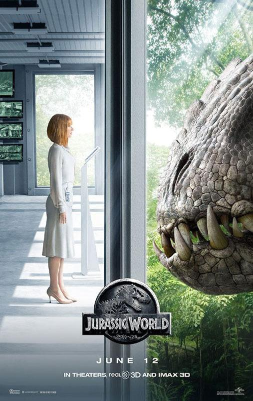 <p>Let's get some perspective on this, guys. No, literally, let's get some perspective. That floor Bryce Dallas Howard is standing on is all wrong, if you look at how the Indominus Rex is looking in through the window.</p>