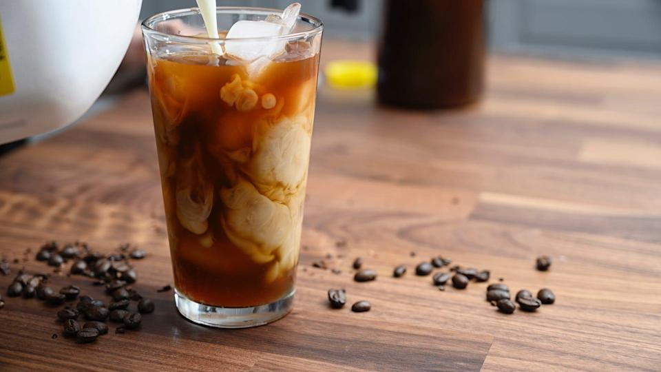 Here's how to make iced coffee at home