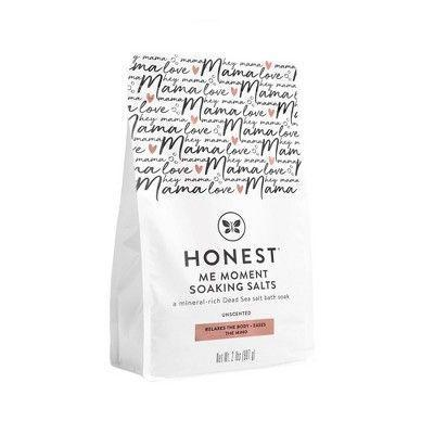 """<p><strong>The Honest Company</strong></p><p>target.com</p><p><strong>$14.99</strong></p><p><a href=""""https://www.target.com/p/the-honest-company-honest-mama-soaking-salts/-/A-76540859"""" rel=""""nofollow noopener"""" target=""""_blank"""" data-ylk=""""slk:Shop Now"""" class=""""link rapid-noclick-resp"""">Shop Now</a></p><p>Give her the gift of me-time! Mineral-rich salt soak promises to de-stress and relaxes pregnant and postpartum moms.</p>"""