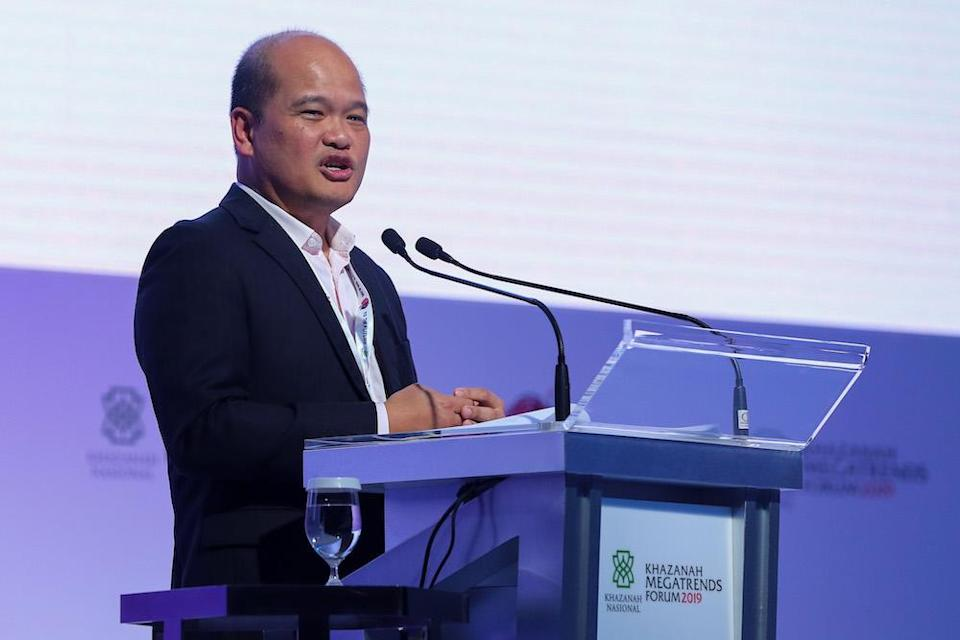 Khazanah managing director Datuk Shahril Ridza Ridzuan said the wealth fund has had a 'steady' performance in the face of the coronavirus crisis. — Picture by Yusof Mat Isa