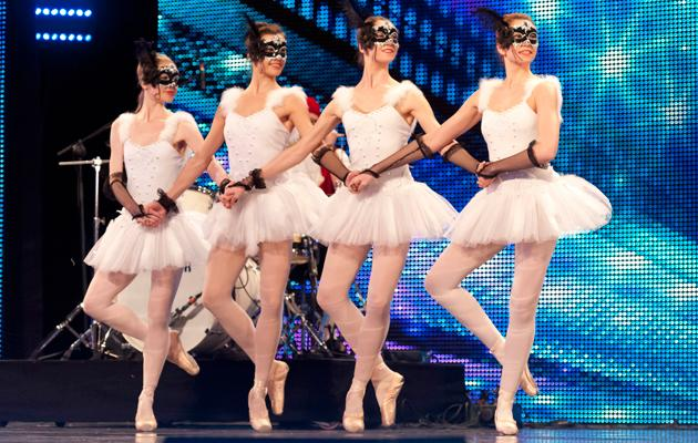 Britain's Got Talent photos: From ballet to belching, nothing is banned from BGT. These ballet dancers show the judges what they've got.