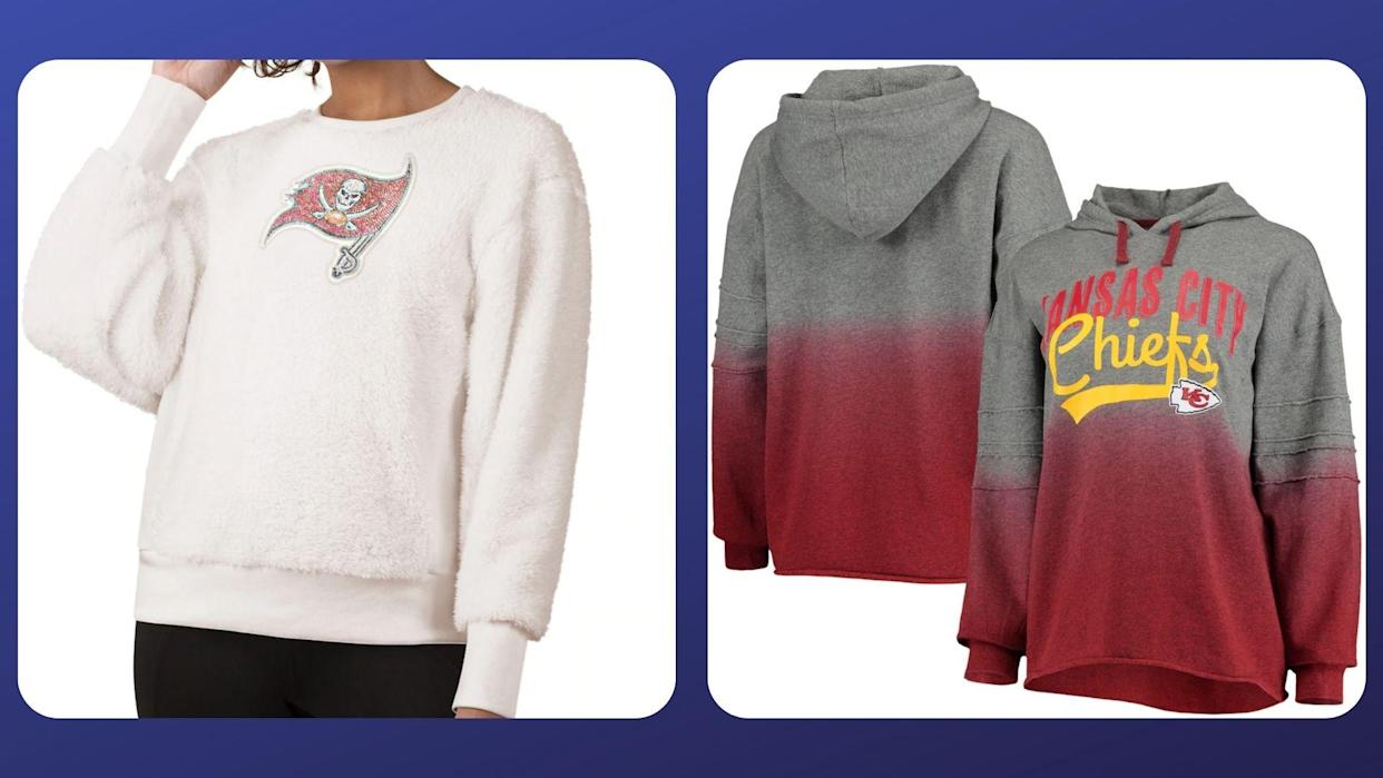 Use code NFL20 at checkout to take 20% off women's NFL gear at the NFL shop. (Photo by NFLShop.com)